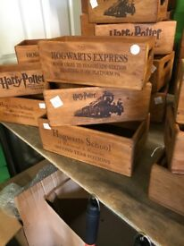 Harry Potter storage boxes