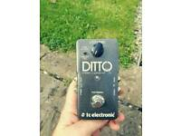 Ditto loop guitar pedal
