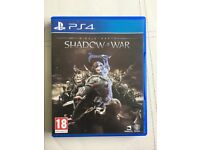 PS4 Middle Earth: Shadow of War - Perfect Condition