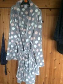 Ladies dressing gown from tu Sainsbury's xl size