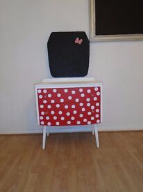 Mini Mouse Style dressing table with talk board.