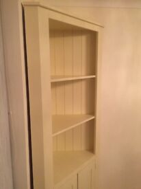 Handmade Solid Wood Living/Dining Room Corner Unit Cream