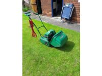 Qualcast electric cylinder mower.