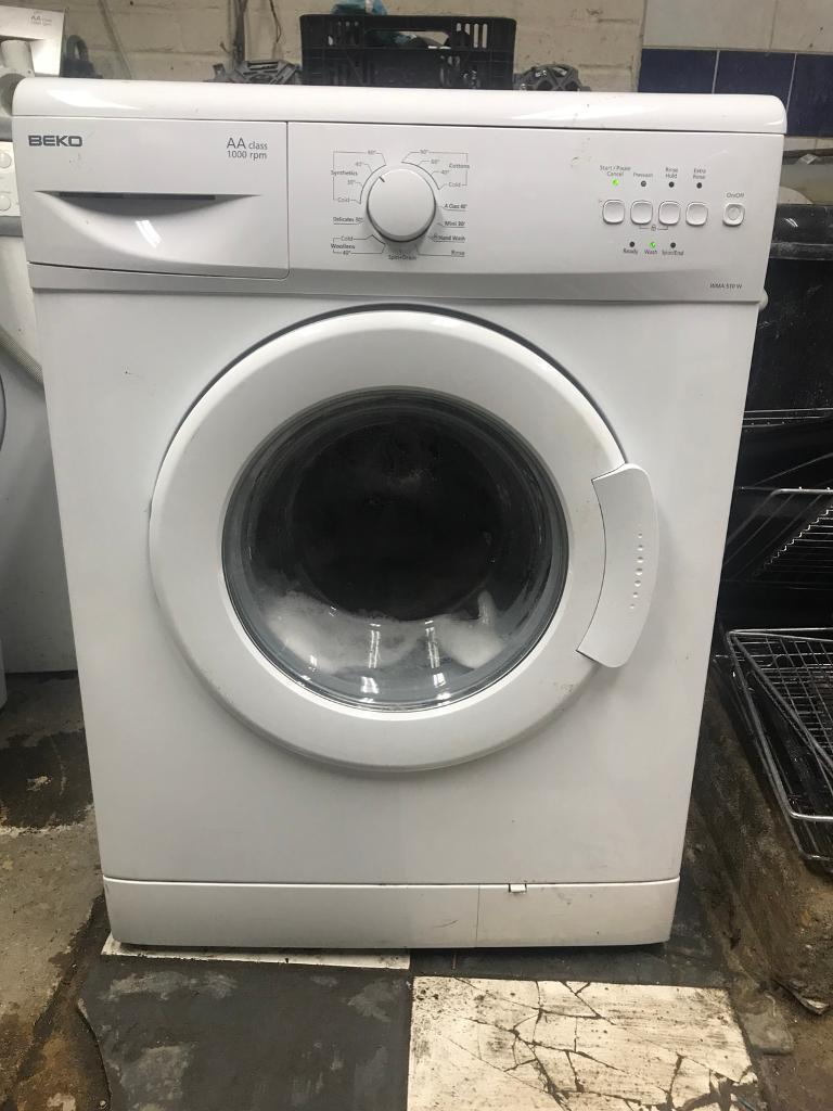 Beko washing mechine A plus white