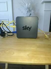 Sky broadband internet hub