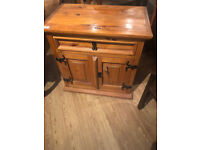 Wooden Storage Unit , feel free to view size W 24 in D 15 in H 24 in