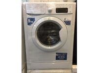 INDESIT free standing washing machine 9 kg display model nice condition & fully working order
