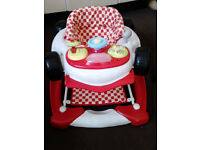 My Child Car Walker Baby Walker - Red.
