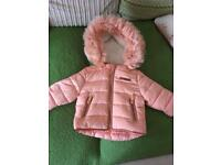 Girls coats age 3/6 month
