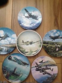 selection of War Aeroplane Collectable Plates