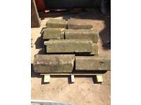 York stone wall copings