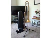 Yamaha 354 Trombone + Stand + Spare Mouthpiece