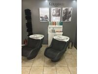 Hair salon chair to rent