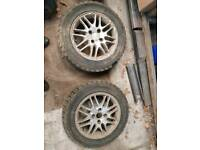 Rally cross tyres