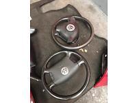 Vw golf mk4/bora steering wheel