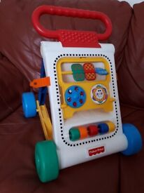 Baby walker very good condition folds flat for storage