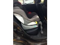 Pompero baby/toddler car seat with isofix base