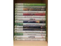 Selection of Xbox360 games