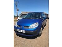 RENAULT SCENIC 2005 MPV IDEAL FAMILY CAR WITH 1 YEARS MOT