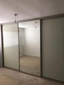 Stylish build in wardrobe doors