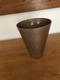 Glass vase handmade