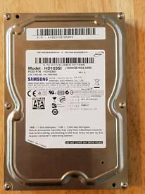 "Samsung 1tb sata hard drive 3.5"" for desktop computer"