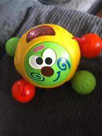 Fisher price chuckle ball