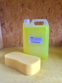 Caravan specialist hi foam shampoo 5ltr (bailey motor home fleetwood lunar 5th wheel abbey)