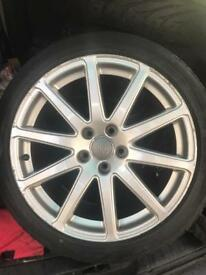 "Audi TT TTRS 18"" speedline alloys tyres"