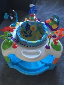 Under the water jumperoo