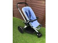 Quinny Buzz Pushchair including foot muff
