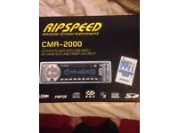 RipSpeed Car CD player