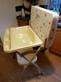 Foldable Baby Changing/Bath Unit