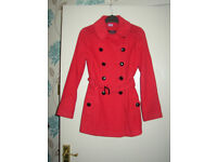 Beautiful Red Florence and Fred Coat