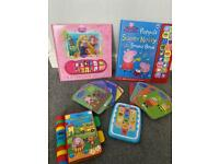 Peppa pig e reader and children book bundle