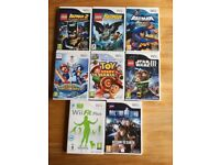 Various Wii games.