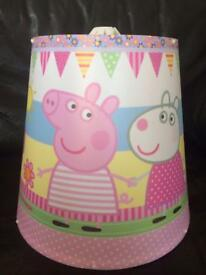 Peppa Pig lamp shade