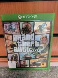 "XBOX ONE GAME ""GRAND THEFT AUTO V"""