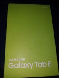 samsung galaxy tab e brand new