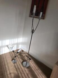 Next Floor lamp plus table lamp