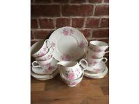 Beautiful Vintage 21 peace Duchess China Tea Set