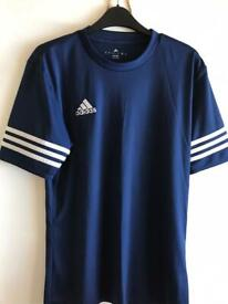 Adidas poly t shirt size small