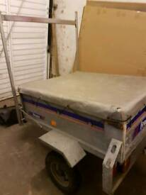FRANC TRAILER WITH ERDE LADDER RACK READY TO USE