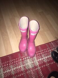 Hunter wellies size 11