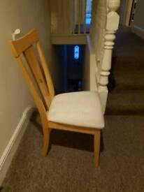 Single Chair £4