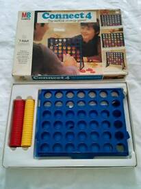 Vintage Collector's Item Connect 4 game. £10.00.