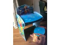 Child's writing desk