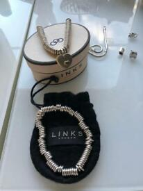 Genuine Links of London Bracelet & Necklace with Pendant