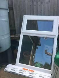 Rehau upvc window