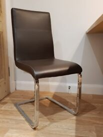 Four dining chairs, very good condition